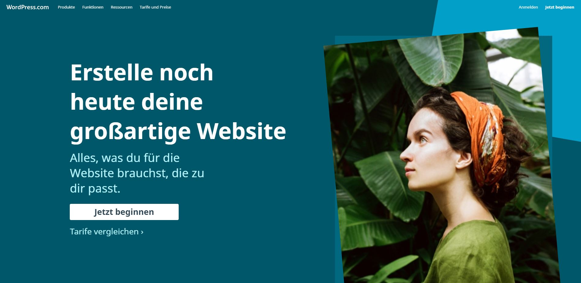 Einen hosted Blog bei WordPress anlegen