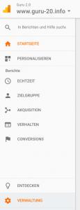 Google Analytics für das https-Protokoll deines Blogs umstellen