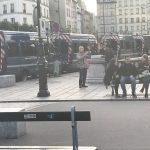 Die Polizei sichert Notre-Dame in Paris, nach dem Anschlag vom 6. Juni 2017