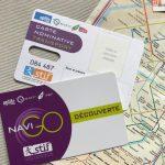 Der pass navigo découverte der RATP ist die günstige Weise um in Paris vorwärts zu kommen