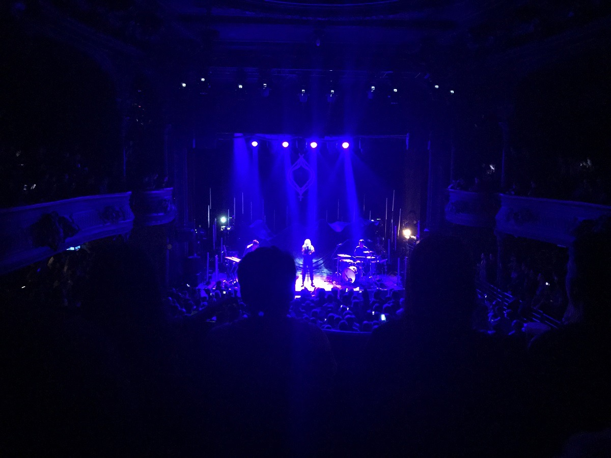 Konzert von Tove Lo in La Cigalle, Paris im März 2017