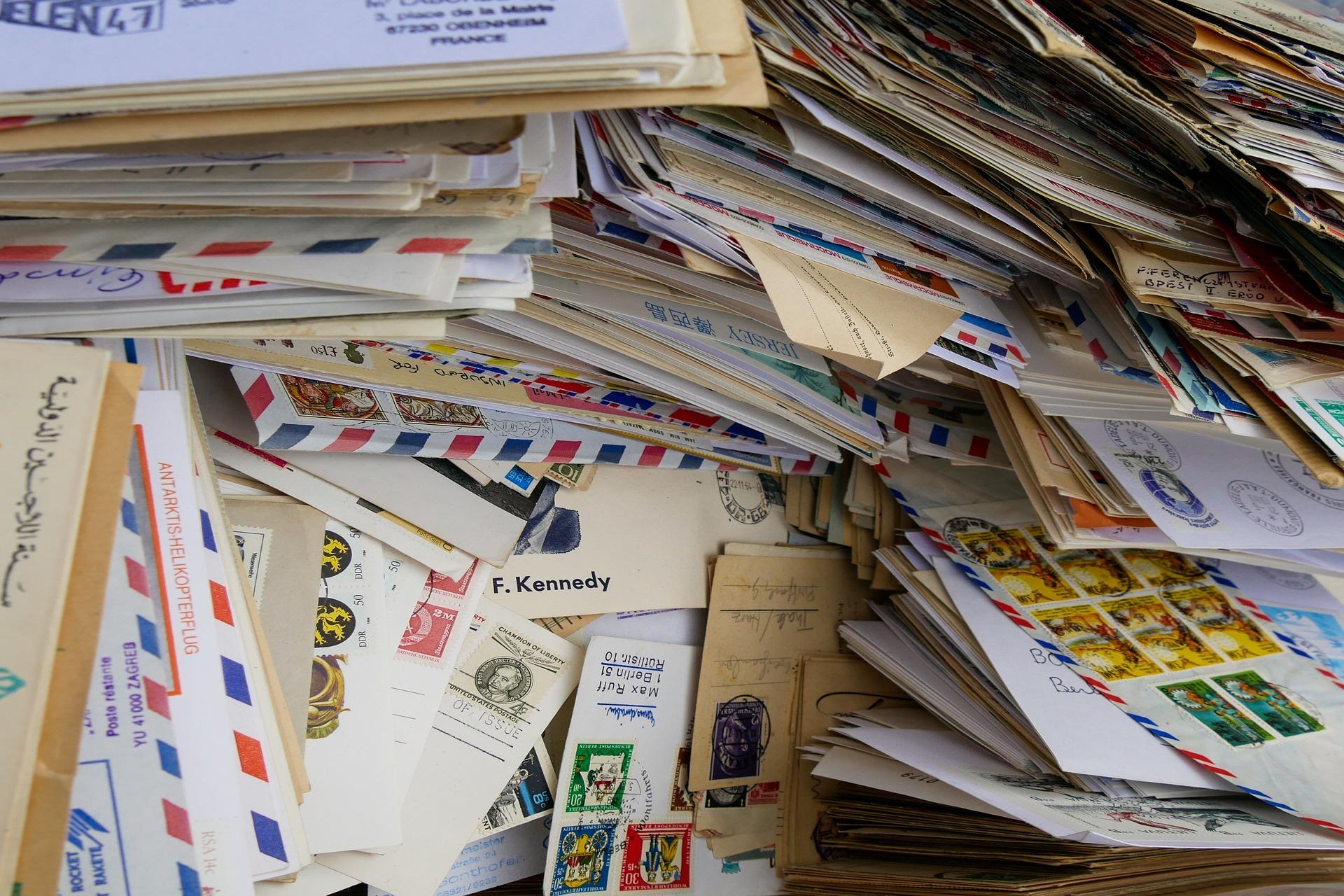 Alte Post, Glückwunschkarten und Urlaubsgrüße