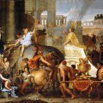 Einzug Alexanders des Großen in Babylon