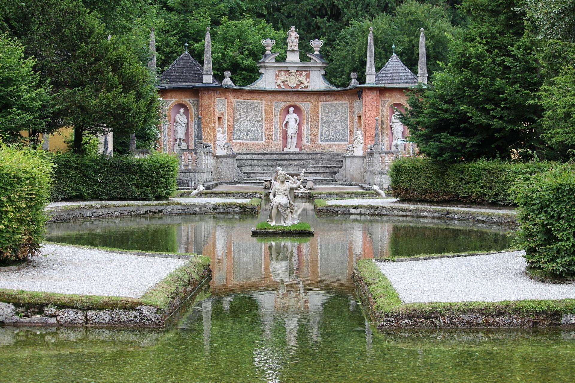Die Wasserspiele in Hellbrunn