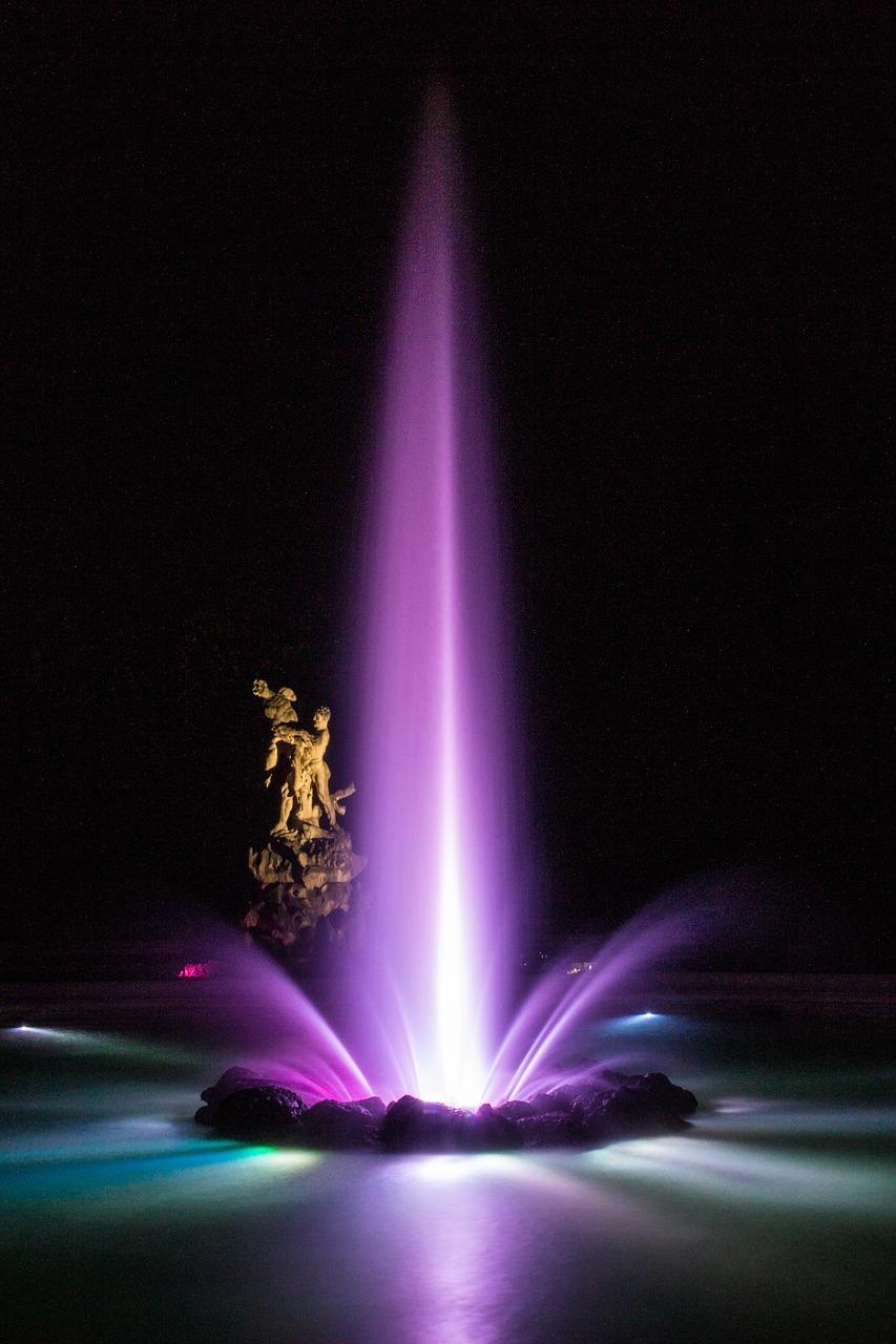 Ein Leuchtbrunnenkonzert