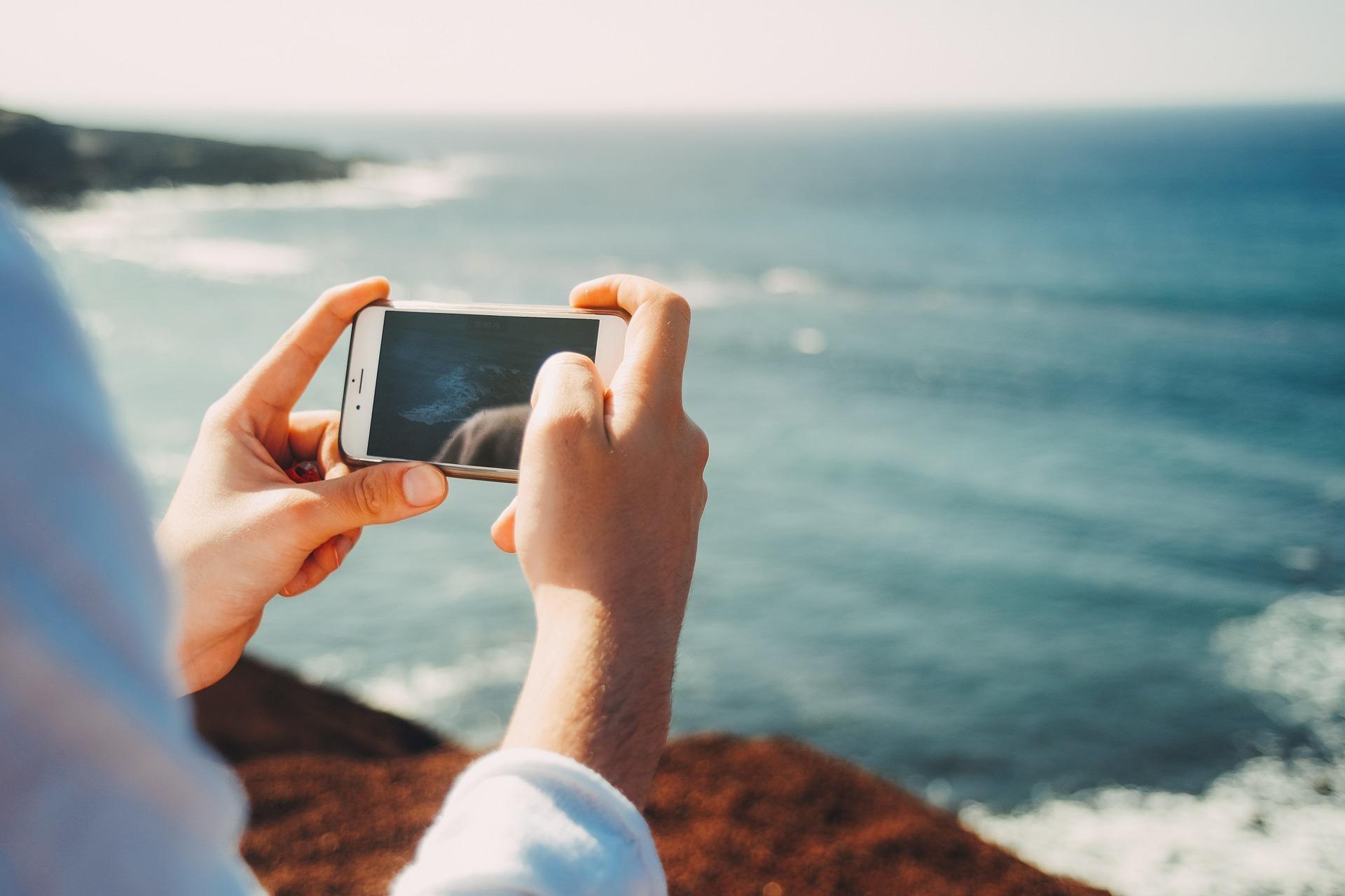 Schau nicht als erstes auf dein Mobiltelefon