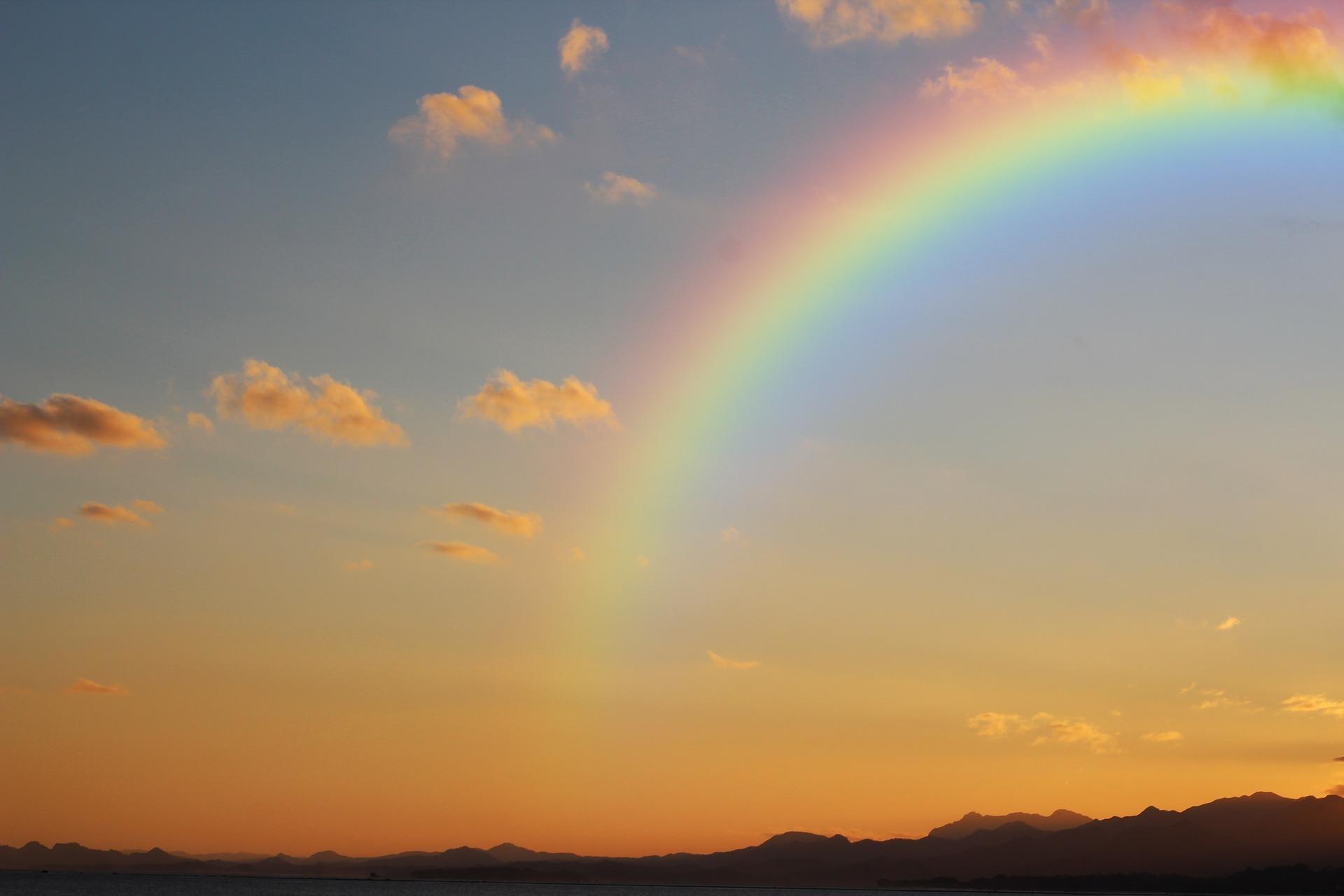Und jetzt brauche ich einen Regenbogen!