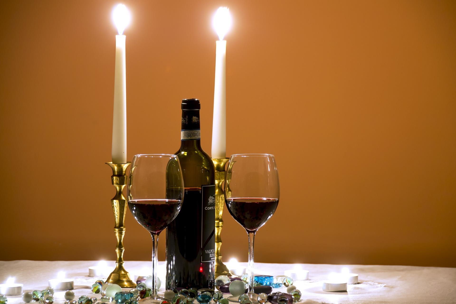 Und zum Abschluss ein kleines Glas Rotwein