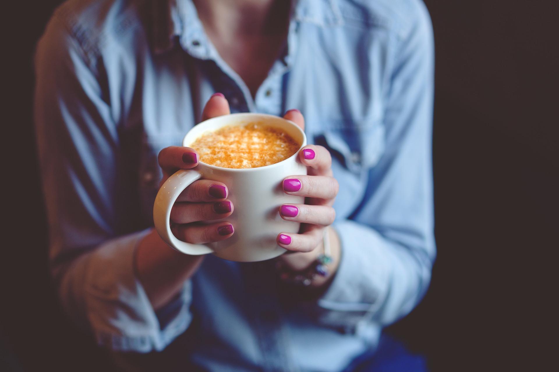 Ist doch so ein richtiger Tag für eine große Tasse Café