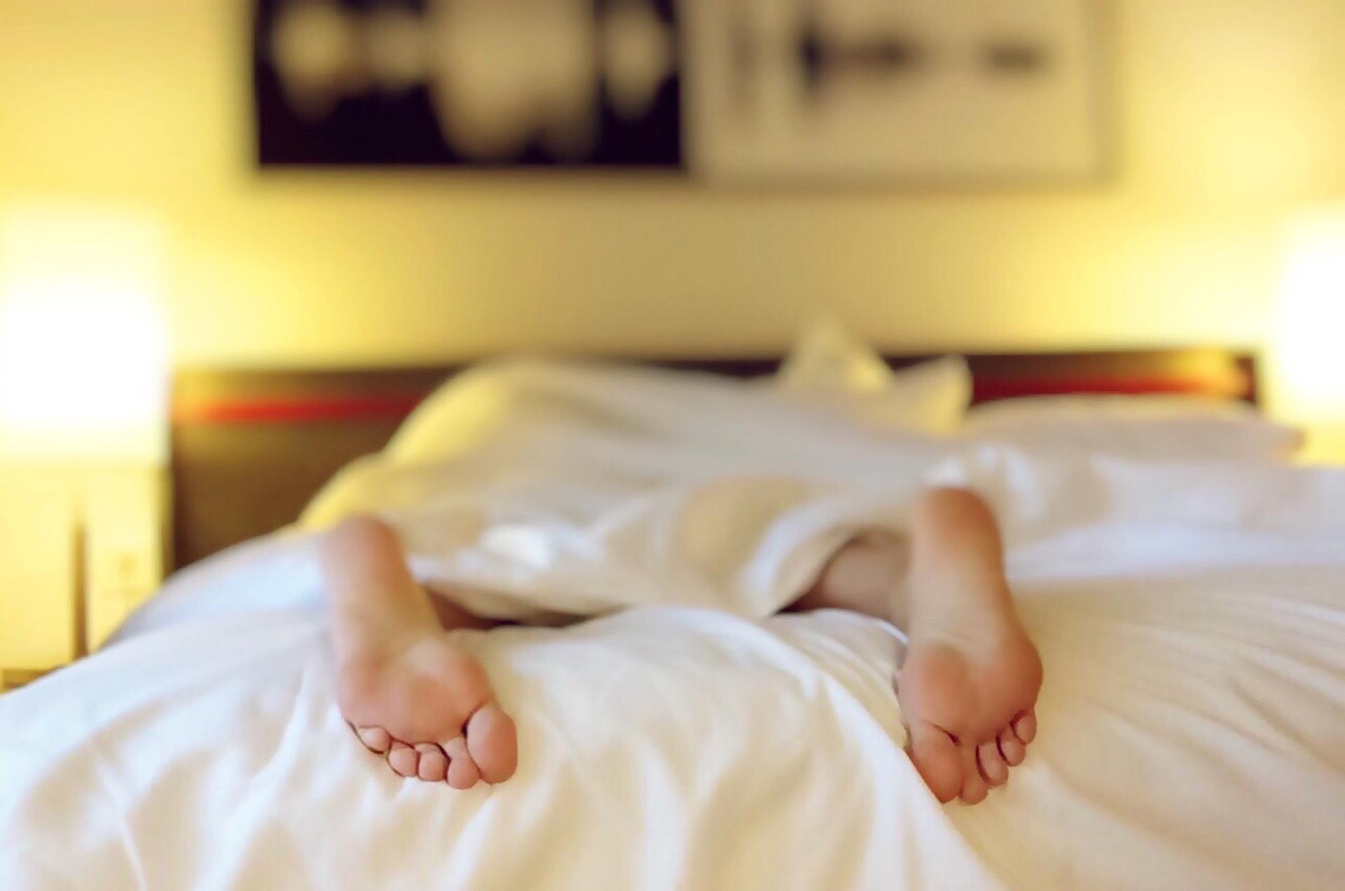 Das geile Gefühl eines frisch bezogenen Betts